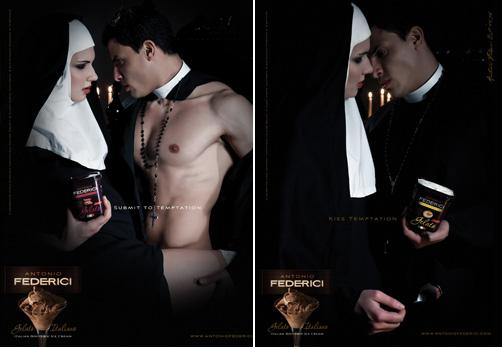 Sexy ice cream ad