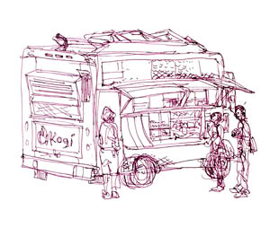 Kogi BBQ Taco Truck (Shiho Nakaza)