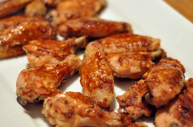 Korean Oven-Fried Chicken Wings