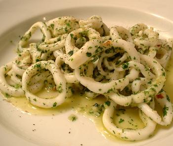 with parsley and garlic sauteed calamari with parsley and garlic ...